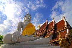 ναός αγαλμάτων του Βούδα Στοκ Εικόνες
