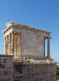 Ναός Αθηνάς Nike, Αθήνα Στοκ Φωτογραφία