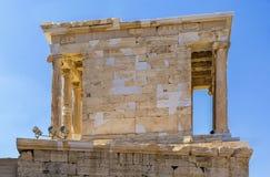 Ναός Αθηνάς Nike, Αθήνα Στοκ Φωτογραφίες