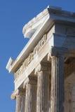Ναός Αθηνά Nike στην ακρόπολη της Αθήνας στην Ελλάδα Στοκ Φωτογραφίες
