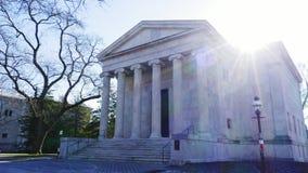 Ναός αιθουσών του Clio στο Πανεπιστήμιο του Princeton απόθεμα βίντεο