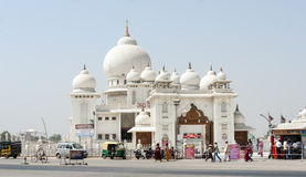 ναός ακρών του δρόμου της Ινδίας Στοκ φωτογραφίες με δικαίωμα ελεύθερης χρήσης