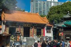 Ναός αμαρτίας του Yuen wong tai Sik sik στο Χογκ Κογκ Στοκ εικόνες με δικαίωμα ελεύθερης χρήσης