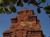 ναός Βιετνάμ champa στοκ εικόνα