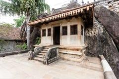 Ναός βράχου Isurumuniya Anuradhapura, Σρι Λάνκα, Ασία Στοκ Εικόνες