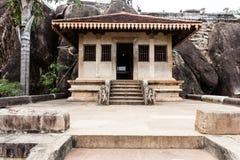 Ναός βράχου Isurumuniya Anuradhapura, Σρι Λάνκα, Ασία Στοκ φωτογραφία με δικαίωμα ελεύθερης χρήσης