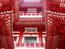 ναός λειψάνων δοντιών Σινγκαπούρης chinatown Βούδας Στοκ εικόνες με δικαίωμα ελεύθερης χρήσης