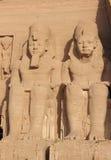 Ναός λεπτομέρειας Rameses ΙΙ abu Αίγυπτος simbel Στοκ Φωτογραφίες