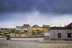 ναός Θιβετιανός στοκ εικόνες