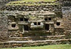 Ναός ιαγουάρων της Maya Στοκ εικόνες με δικαίωμα ελεύθερης χρήσης