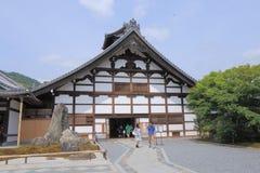 Ναός Ιαπωνία του Κιότο Tenryuji Στοκ φωτογραφία με δικαίωμα ελεύθερης χρήσης