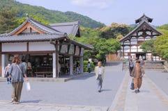 Ναός Ιαπωνία του Κιότο Tenryuji Στοκ εικόνα με δικαίωμα ελεύθερης χρήσης