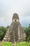 Ναός Ι, ναός Tikal του μεγάλου ιαγουάρου στο κύριο Plaza Στοκ Εικόνες