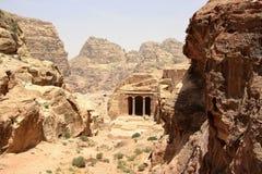 Ναός κήπων σύνθετος στη Petra, Ιορδανία στοκ εικόνα με δικαίωμα ελεύθερης χρήσης