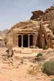 Ναός κήπων σύνθετος στη Petra, Ιορδανία στοκ φωτογραφία με δικαίωμα ελεύθερης χρήσης