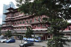 Ναός και μουσείο λειψάνων δοντιών του Βούδα στη Σιγκαπούρη στοκ εικόνα με δικαίωμα ελεύθερης χρήσης