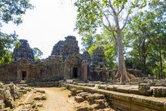 Ναός Καμπότζη Kdei Banteay Στοκ Εικόνες