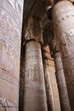 ναός καταστροφών dendera στοκ εικόνα