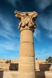 ναός καταστροφών dendera στοκ φωτογραφία
