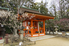 Ναός Κιότο Ιαπωνία tenmangu Kitano Στοκ Εικόνες
