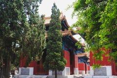 Ναός Κομφουκίου, Πεκίνο, Κίνα στοκ φωτογραφία με δικαίωμα ελεύθερης χρήσης