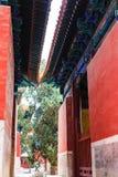 Ναός Κομφουκίου, Πεκίνο, Κίνα στοκ εικόνα
