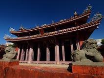 ναός Κομφουκίου Ταϊνάν Στοκ φωτογραφία με δικαίωμα ελεύθερης χρήσης