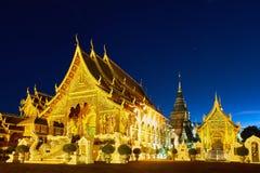 Ναός κρησφύγετων απαγόρευσης Wat ή κρησφύγετο Salee Sri Muangkaen Wat σε Chiang Mai Στοκ εικόνες με δικαίωμα ελεύθερης χρήσης