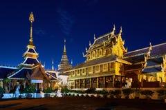 Ναός κρησφύγετων απαγόρευσης Wat ή κρησφύγετο Salee Sri Muangkaen Wat σε Chiang Mai Στοκ φωτογραφία με δικαίωμα ελεύθερης χρήσης