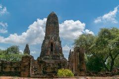 Ναός κριού Phra σε Ayutthaya, Ταϊλάνδη Στοκ φωτογραφίες με δικαίωμα ελεύθερης χρήσης