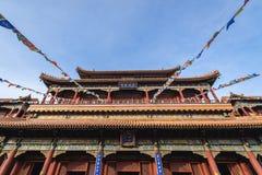 Ναός λάμα στο Πεκίνο στοκ φωτογραφίες