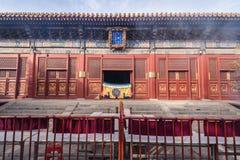Ναός λάμα στο Πεκίνο στοκ φωτογραφία