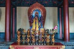 Ναός λάμα στο Πεκίνο στοκ εικόνες