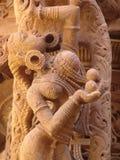 ναός λεπτομέρειας jain jaisalmer Στοκ Εικόνες