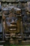 Ναός μασκών, Lamanai Μπελίζ Στοκ Φωτογραφίες