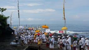Ναός μερών Tanah, Μπαλί, Ινδονησία στοκ εικόνα