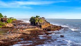 Ναός μερών Tanah στο νησί του Μπαλί Στοκ φωτογραφία με δικαίωμα ελεύθερης χρήσης