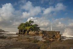 ναός μερών tanah Στοκ φωτογραφία με δικαίωμα ελεύθερης χρήσης
