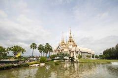 Ναός μη Kum Wat, Nakhon Ratchasima, Ταϊλάνδη Στοκ φωτογραφίες με δικαίωμα ελεύθερης χρήσης