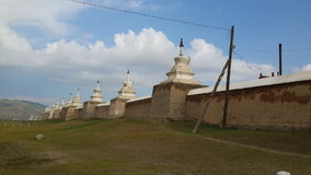 Ναός Μογγολία Στοκ εικόνα με δικαίωμα ελεύθερης χρήσης