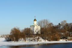 ναός μοναστηριών νησιών Στοκ Εικόνες