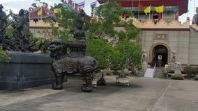 Ναός & μουσείο Pattaya Sien Viharn (Thailandia) Στοκ εικόνες με δικαίωμα ελεύθερης χρήσης