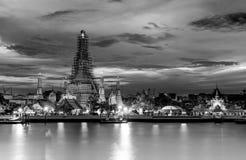 Ναός Μπανγκόκ Ταϊλάνδη Arun Rajwararam Wat Στοκ Εικόνες