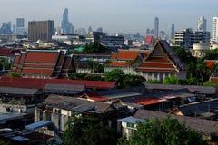 Ναός Μπανγκόκ, Ταϊλάνδη Saket Στοκ Εικόνες