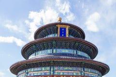 ναός ουρανού του Πεκίνο&upsi Στοκ εικόνες με δικαίωμα ελεύθερης χρήσης