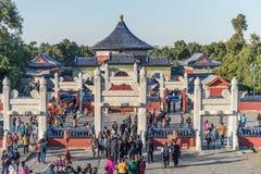 ναός ουρανού του Πεκίνο&upsi Στοκ φωτογραφία με δικαίωμα ελεύθερης χρήσης
