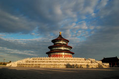 ναός ουρανού στοκ εικόνα