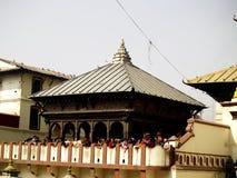 ναός περιοχής pashupatiinath στοκ εικόνα με δικαίωμα ελεύθερης χρήσης