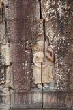 Ναός πετρών που χαράζει το angkor της Καμπότζης Στοκ Εικόνες