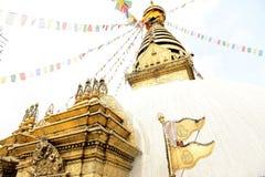 Ναός πιθήκων Swayambhunath, Κατμαντού, Νεπάλ Στοκ φωτογραφία με δικαίωμα ελεύθερης χρήσης